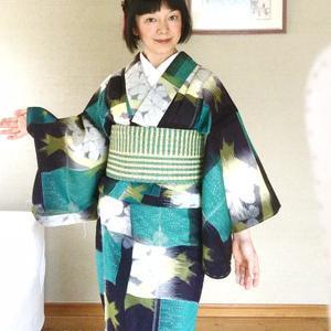 【着物スタイル】生徒さんにアンティーク着物を紹介するテーマ
