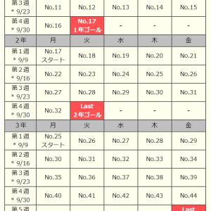 三省堂版|9月の漢字定着マラソン