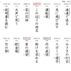 漢字テスト(学校図書対応)の作成が簡単に!