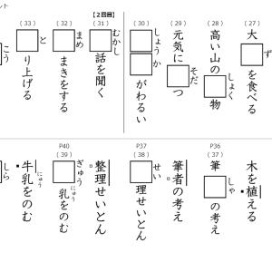 漢字マラソンの第2週目に入ります!