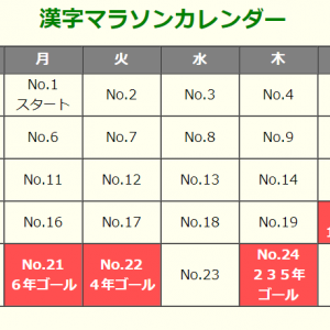 漢字マラソン(東京書籍)