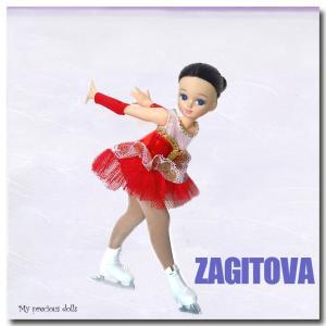 お人形でアリーナ・ザギトワをやってみた