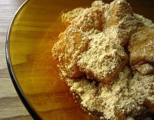 タピオカ粉で作るわらび餅