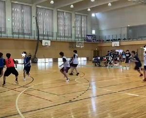 高校バスケ練習試合