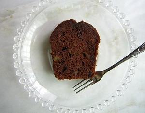 チョコとくるみのケーキ@グルテンフリー