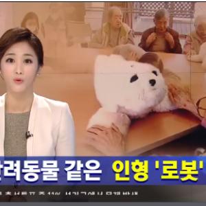 【韓国の反応】日本の、介護者顔負けの立派な「人形ロボット」