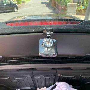 CX-5にリアドライブレコーダーを。