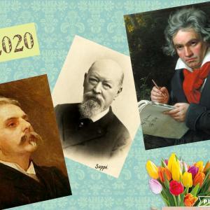 今日はおうちで音楽鑑賞♪2020年ゆかりの作曲家たち
