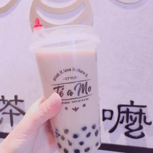 紅茶タピオカミルクティ