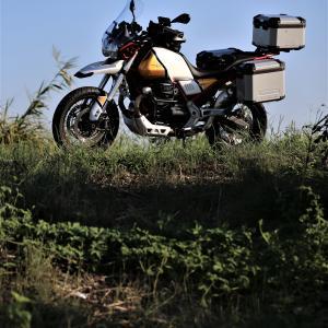 Moto Guzzi V85TT 納車即乗りましたっ!