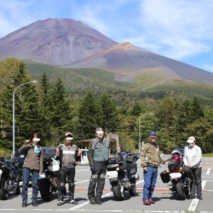 快晴の富士山ぐるりんツーリング6台7名