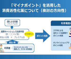来年(2020年)7月~マイナポイント制度開始予定!