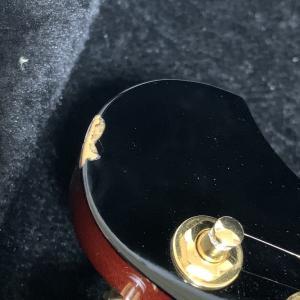Karakusaギターが帰ってきたけどまた里帰り。
