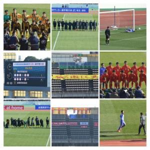 前橋育英-神村学園 第98回全国高校サッカー選手権 1回戦
