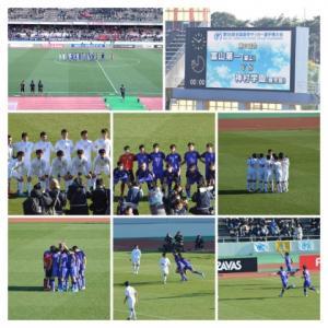 富山第一vs神村学園 第98回全国高校サッカー選手権 2回戦