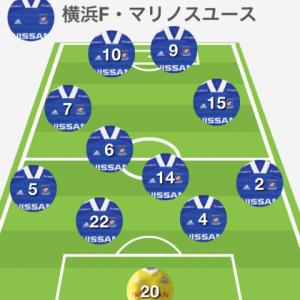 横浜FMユースvs浦和レッズユース プレミアリーグ2020関東