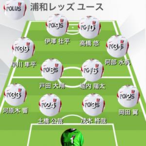 レッズY-名古屋U-18 第45回 日本クラブユースU-18(Green Cardチャンネル視聴)