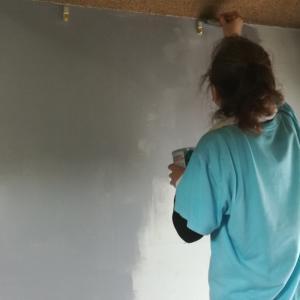 DIY ペンキ塗り