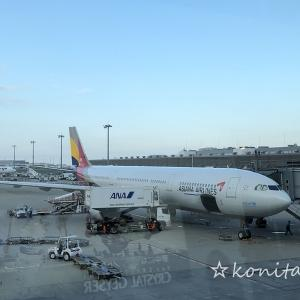 韓国帰国後の羽田空港