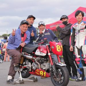 2020/10/24 ミニバイク5時間耐久レース㏌鈴鹿ツインサーキット 番外編