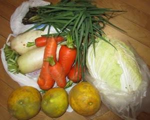 ありがたい野菜