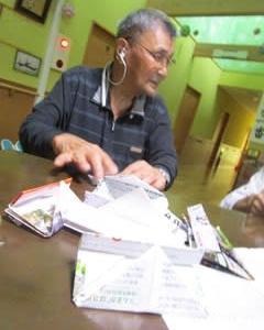 折り紙の先生は・・