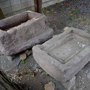 安中市小型石棺馬舟さま