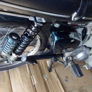 カブ70・マフラー修理&交換