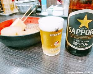 資飲みの聖地「資さんうどん魚町店」で乾杯!夜の遅い時間帯は酔っ払いで溢れていますね(笑)