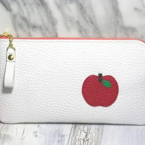★L字ファスナー長財布(りんご)&秋の色