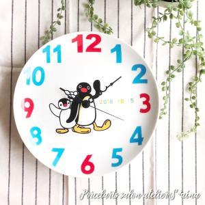 お孫さんのためにピングーの時計をポーセラーツで♡