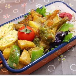 天ぷらで弁当
