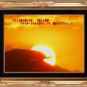 【ゆるにゃんこ占い】今日の運勢は...「今朝の日の出にて」!!