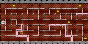 FC版ドルアーガの塔攻略メモ 2面