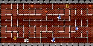 FC版ドルアーガの塔攻略メモ 7面
