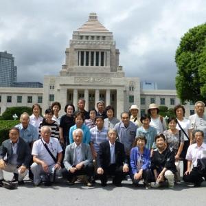 地元・富山の皆さんが国会見学ツアー