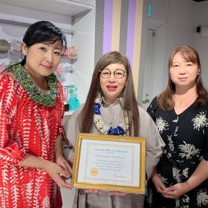 祐美恵(Yumie)先生サティフィケート授与おめでとうございます!!