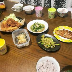 【節約ご飯】日曜日の夜ご飯