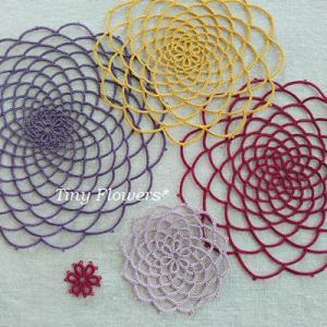 タティングの大輪ダリアの作り方