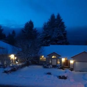 カナダで初めての大雪
