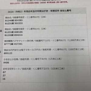 滝澤「すっかり忘れていた・・・ 年賀状当選番号発表!」