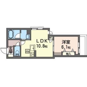 たした「根津駅徒歩3分の新築1LDKシャーメゾン」