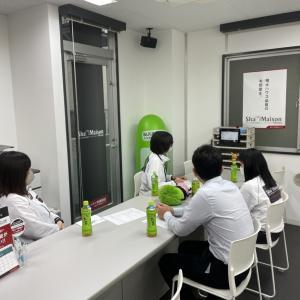 滝澤「本日は会社の全体会議」