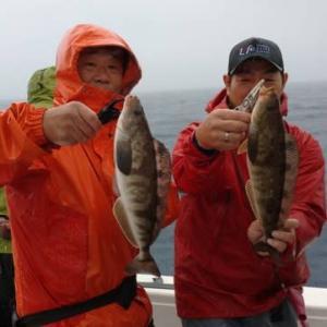 京都府宮津・伸栄丸 中深海タラ ホッケ  本命のホッケが釣れてよかた~ いつもお世話になってる皆さんと行ってきました~ 帰りはいつもの「釣り人の駅」さんでお世話になりました~