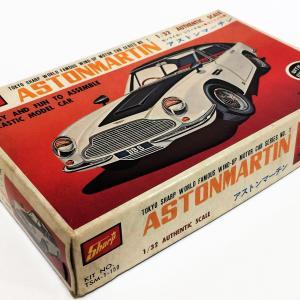アストンマーチン 1/32 ゼンマイカーシリーズNo.1  東京シャープ模型