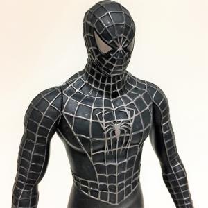 スパイダーマン 3 ビッグソフビフィギュア  ブラック