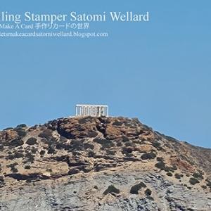 海の神ポセイドン神殿を海上から見ながらーオリンピックマリーナに着きました