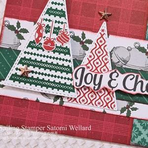 今年最初のクリスマスカードも・・・・はいDSPがデザインの中心! Card No.93