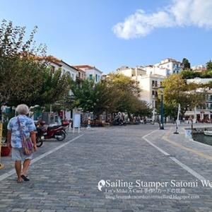 おしゃれな街並みSkopelosタウンハーバーと素敵な出会い