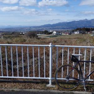 赤城南面道路の深山までサイクリング